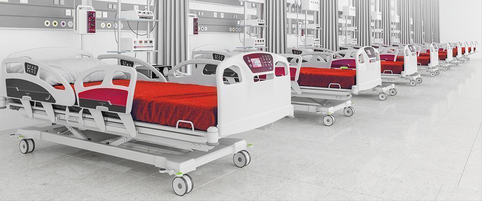 materace przeciwodleżynowe nałóżkach szpitalnych