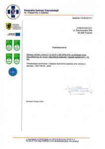 Certyfikat Pomorskie 1