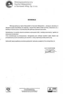 Referencje Lubuskie Gorzow Wlkp